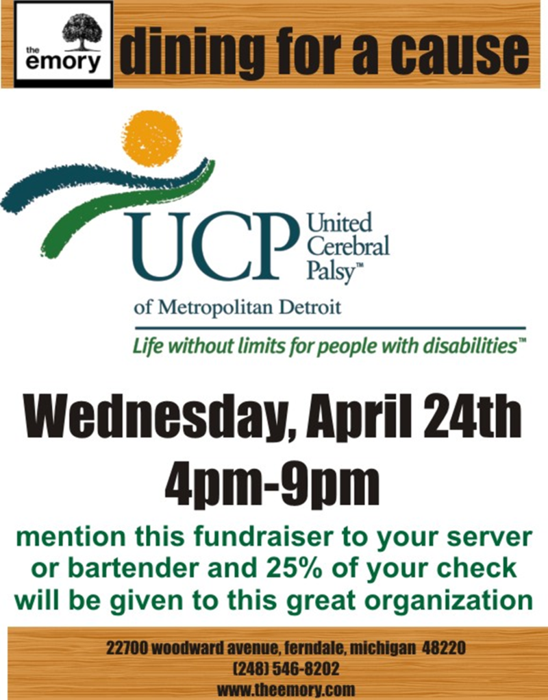 UCP Dining for a Cause